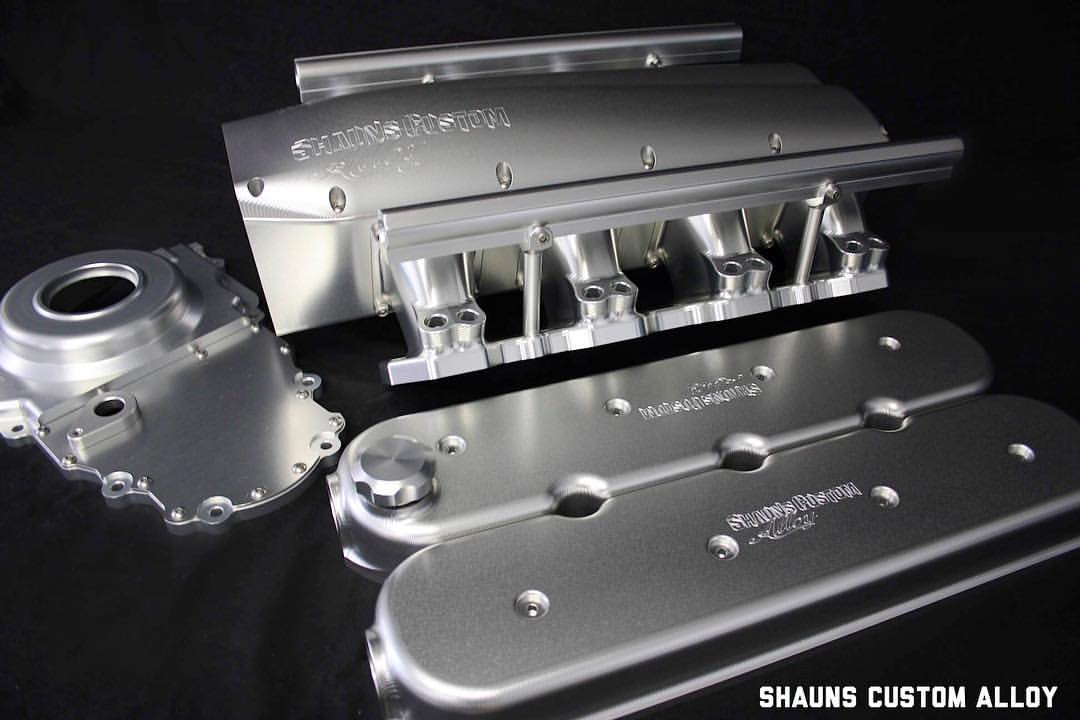 Shaun S Custom Alloy Pro Touring Garage